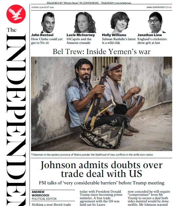 The Independent – 25.08.2019