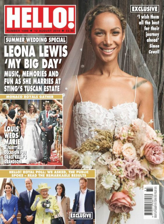 Hello! Magazine UK – 19 August 2019
