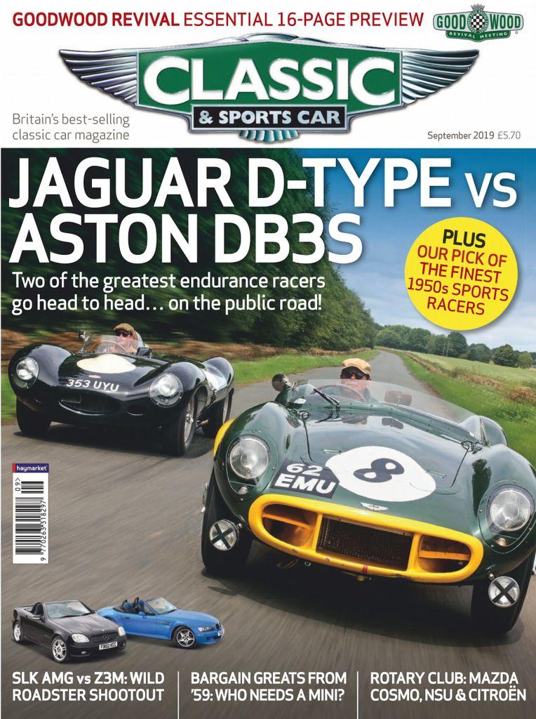 Classic & Sports Car UK – September 2019