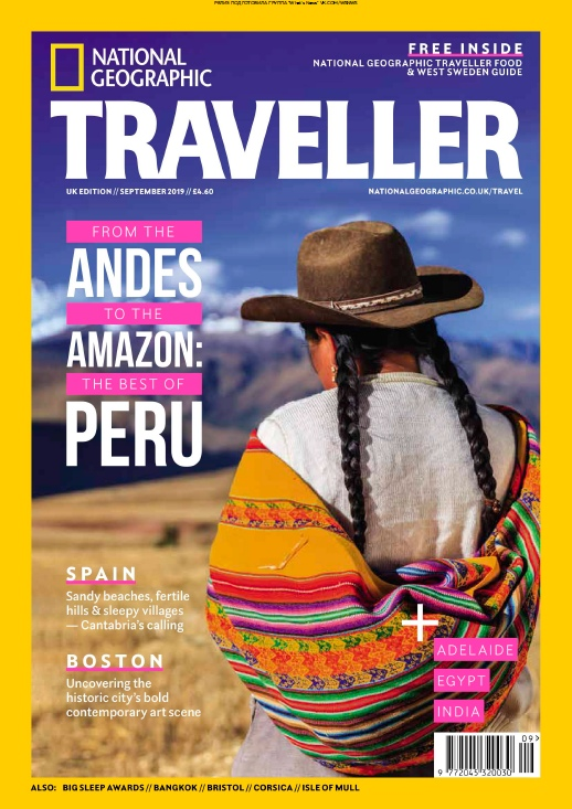 National Geographic Traveller UK – 09.2019