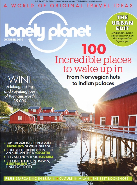 Lonely Planet Traveller UK – 10.2019