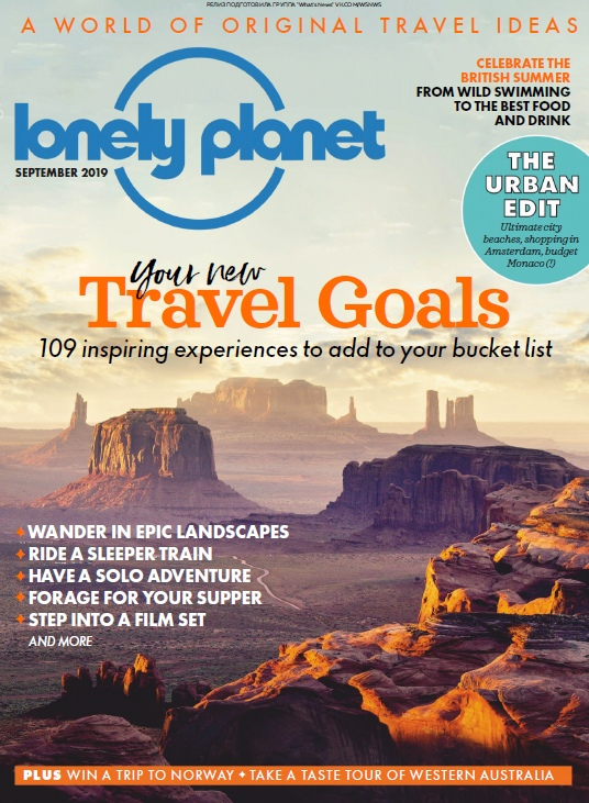 Lonely Planet Traveller UK – 09.2019