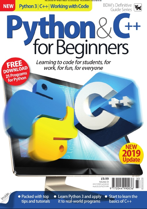 BDM – Python & C++ For Beginners – 2019