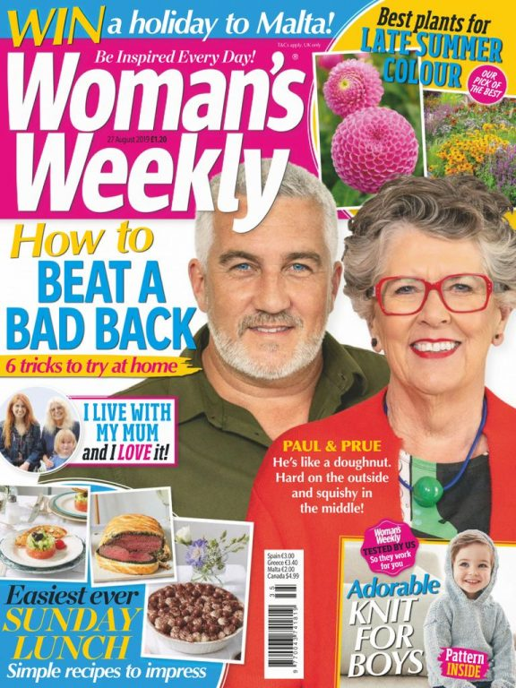 Woman's Weekly UK – 27 August 2019