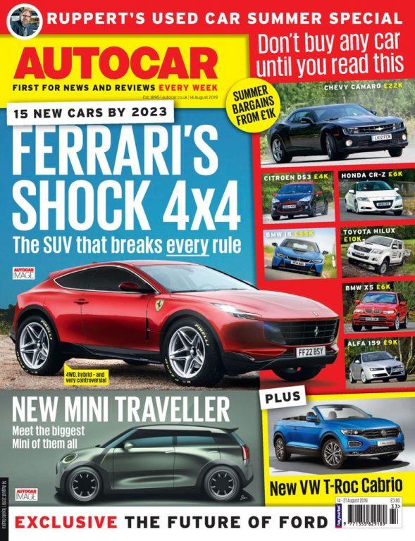 Autocar UK – 14 August 2019