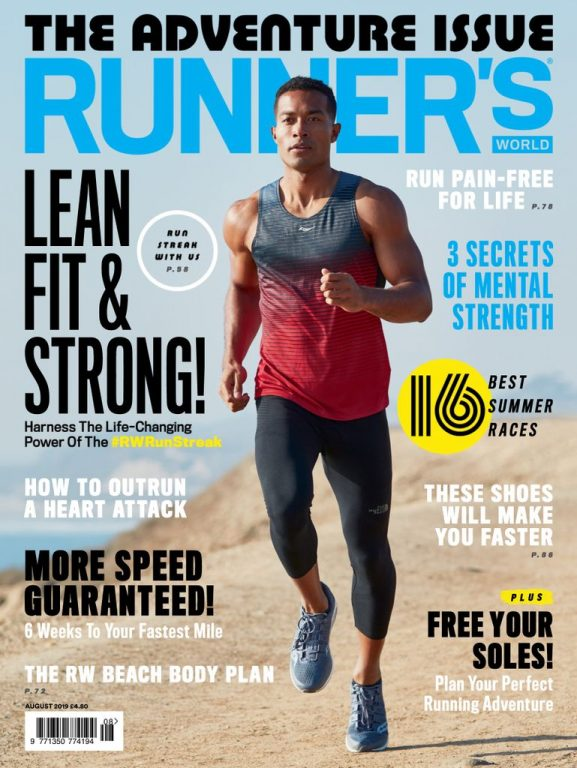 Runner's World UK – August 2019