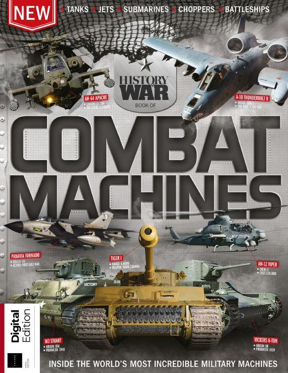History Of War – Book Of Combat Machines – 2019