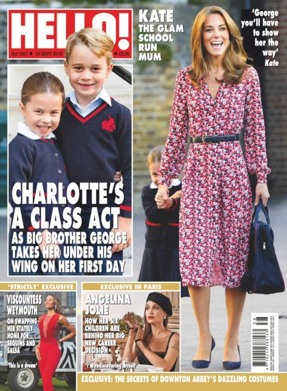 Hello! Magazine UK – 23 September 2019