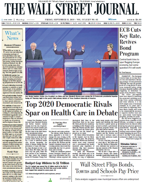 The Wall Street Journal – 13.09.2019