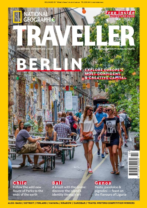 National Geographic Traveller UK – 10.2019