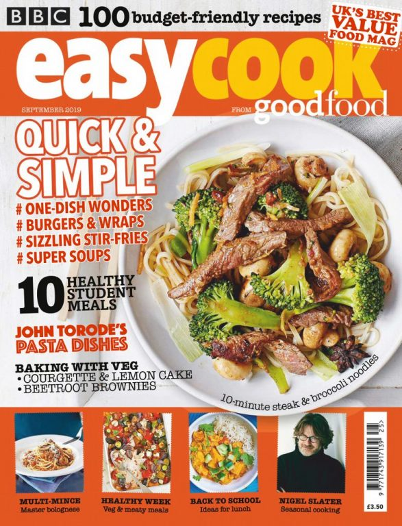 BBC Easy Cook UK – September 2019