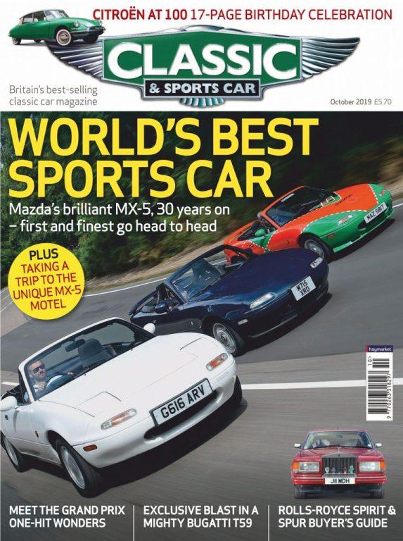 Classic & Sports Car UK – October 2019
