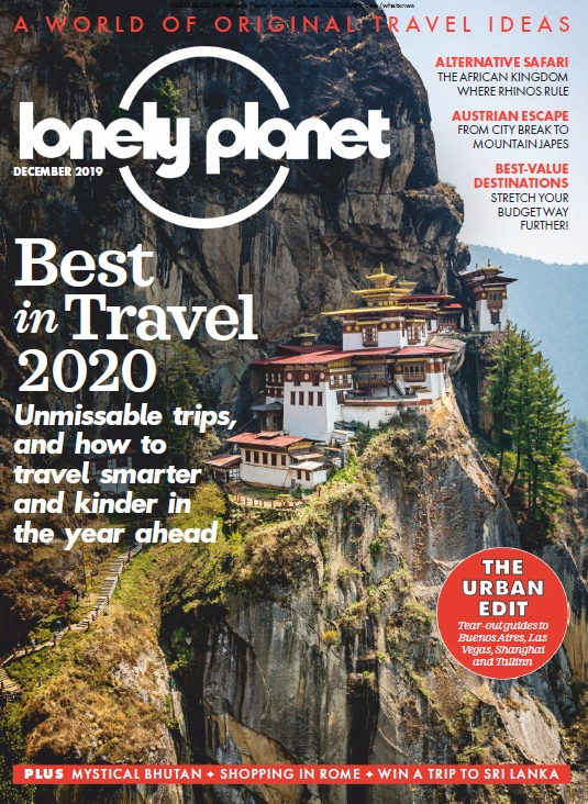 Lonely Planet Traveller UK – 12.2019