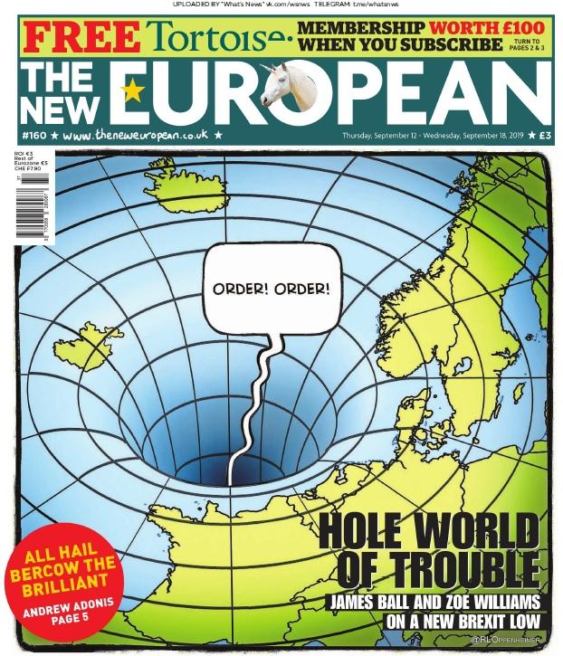 The New European – 12.11.2019
