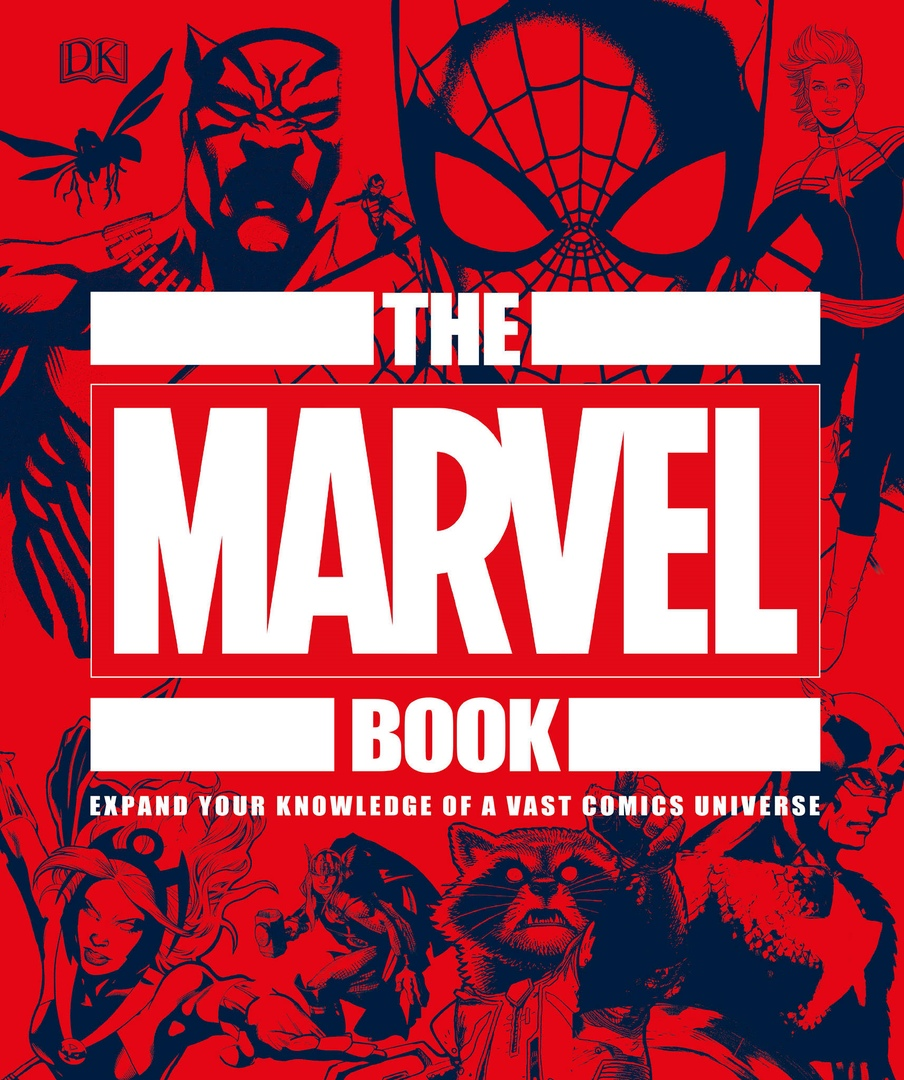 DK – The Marvel Book
