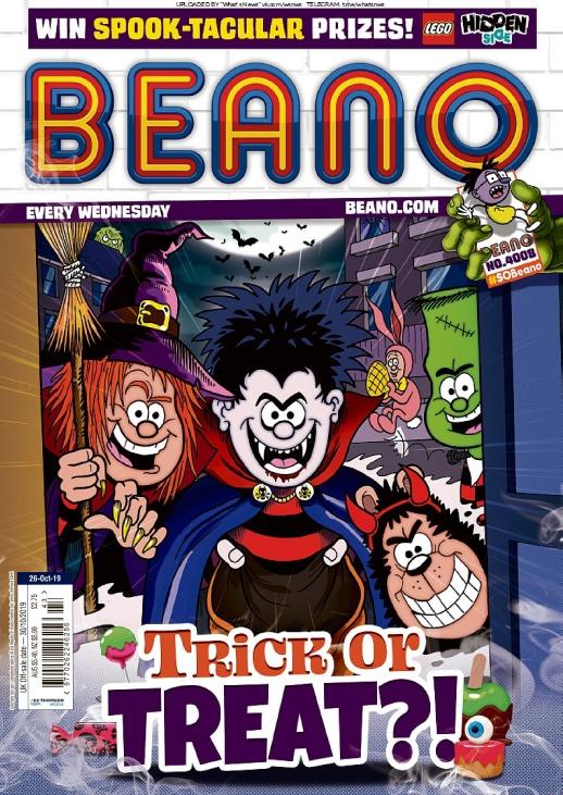 Beano – 23.10.2019