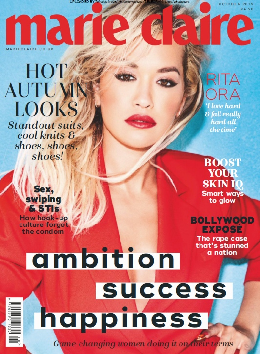 Marie Claire UK – 10.2019