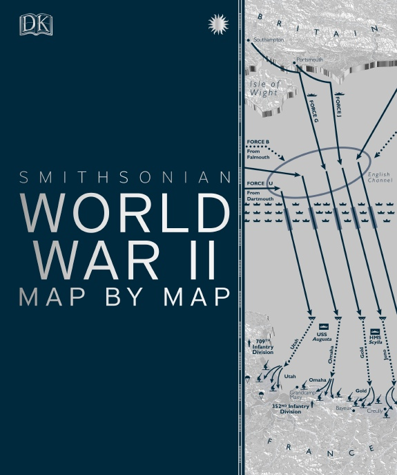 DK – World War II Map By Map