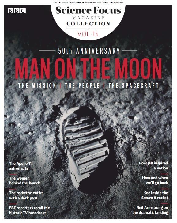 BBC Science Focus Collection – #15 – Man On The Moon – 2019