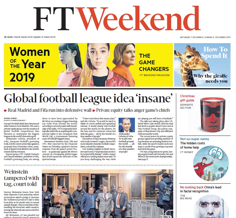 Financial Times UK – 07.12.2019