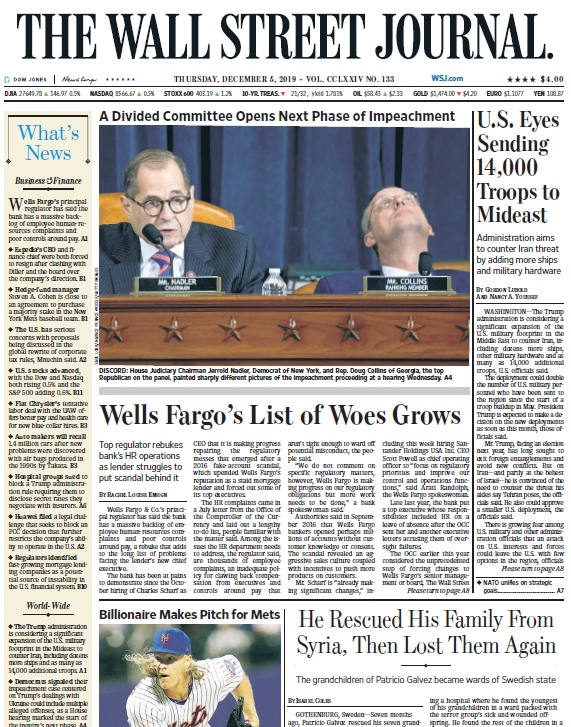 The Wall Street Journal – 05.12.2019