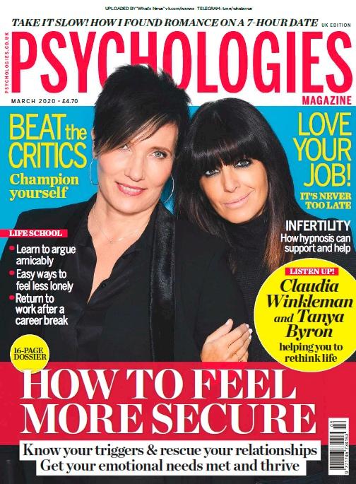 Psychologies UK – 03.2020