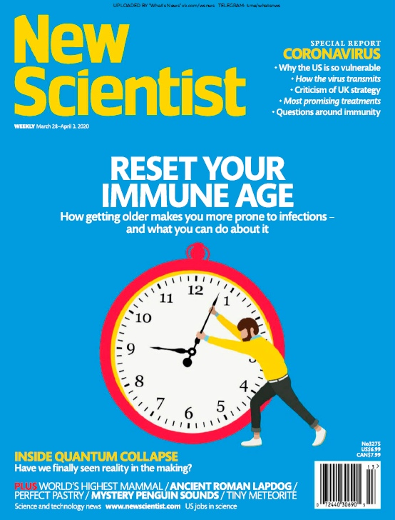 New Scientist – 28.03.2020