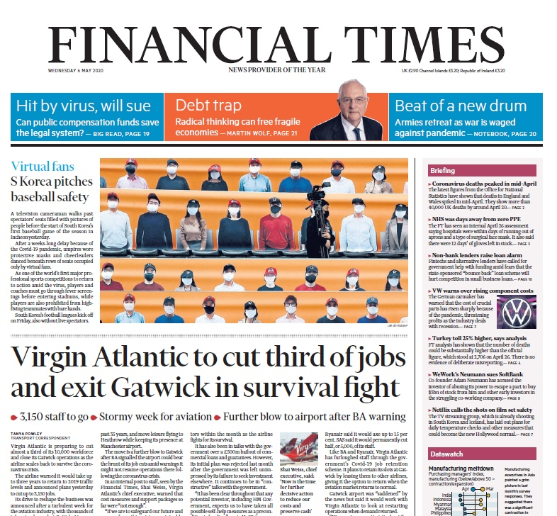 Financial Times UK — 06.05.2020