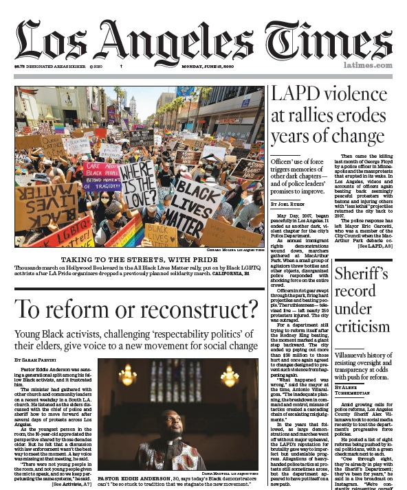 Los Angeles Times — 15.06.2020