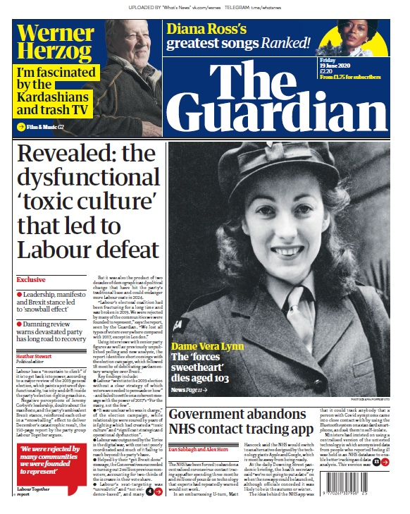 The Guardian — 19.06.2020