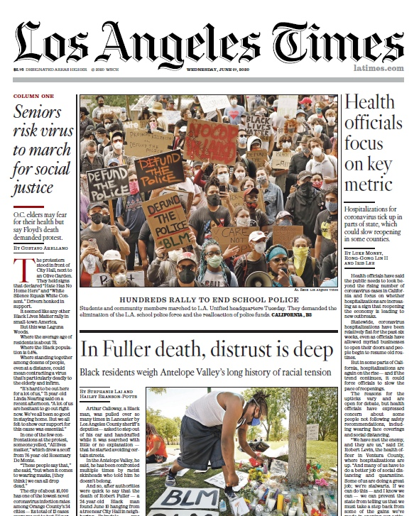 Los Angeles Times — 17.06.2020