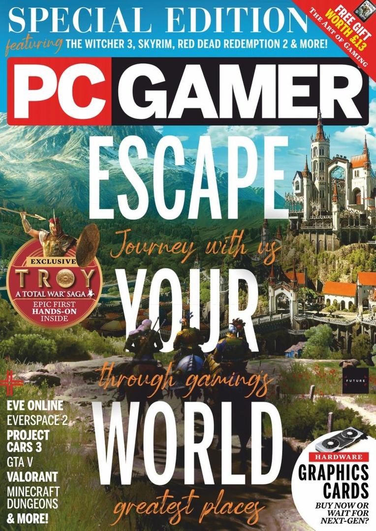 PC Gamer UK – August 2020