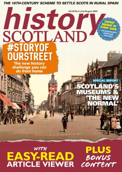 History Scotland – July-August 2020