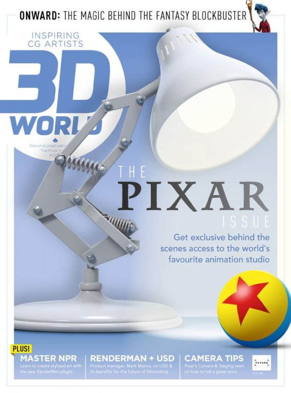 3D World UK – August 2020