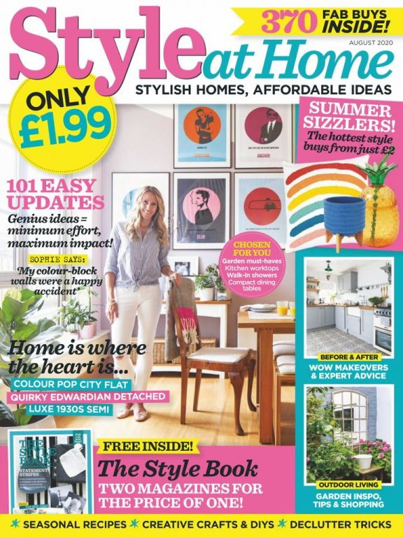 Style At Home UK – August 2020