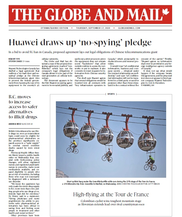 The Globe And Mail – 17.09.2020